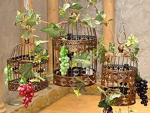 И снова осень! Виноград, фрукты, вино... | Ярмарка Мастеров - ручная работа, handmade