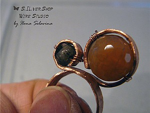 Мастер-класс по изготовлению кольца из проволоки. Ярмарка Мастеров - ручная работа, handmade.