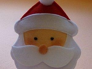 """Мастер-класс по пошиву елочной игрушки из фетра """"Санта -Клаус"""". Ярмарка Мастеров - ручная работа, handmade."""