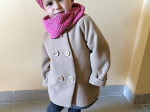 Сшить детское пальто на девочку своими руками
