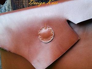 Шьем кожаную сумку с «изюминкой». Ярмарка Мастеров - ручная работа, handmade.