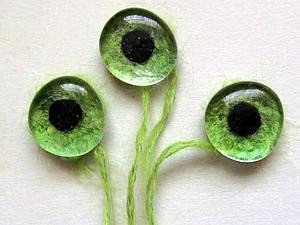 Делаем глазки для вязаных и текстильных игрушек — простые и почти универсальные. Ярмарка Мастеров - ручная работа, handmade.