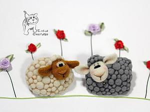 Символ 2015 года - овечка. | Ярмарка Мастеров - ручная работа, handmade