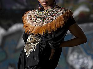 Anita Quansah: кулоны, подвески, колье в африканском стиле.   Ярмарка Мастеров - ручная работа, handmade
