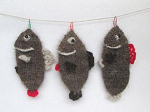Вяжем простой и многофункциональный сувенир «Норвежская рыба». Ярмарка Мастеров - ручная работа, handmade.