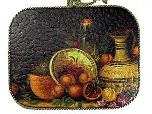 Имитация мозаичного панно | Ярмарка Мастеров - ручная работа, handmade