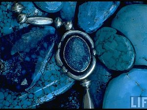Серебро и бирюза в украшениях индейцев племени Навахо | Ярмарка Мастеров - ручная работа, handmade