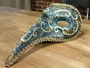 Маскарад – декорирование венецианской маски | Ярмарка Мастеров - ручная работа, handmade