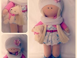 Мастер класс по шитью куколки снежки и тыквоголовки | Ярмарка Мастеров - ручная работа, handmade