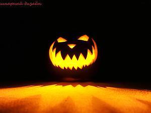 Вырезаем «Светильник Джека на Хэллоуин» через трафарет. Ярмарка Мастеров - ручная работа, handmade.