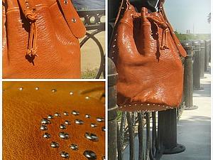 Кожаная сумка торба: универсальный спутник. Ярмарка Мастеров - ручная работа, handmade.