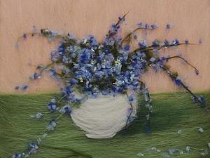 Неваляные картины из шерсти   Ярмарка Мастеров - ручная работа, handmade