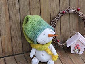 Шьем Снеговика Плюшика — родственника Тедди. Ярмарка Мастеров - ручная работа, handmade.