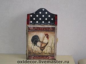 Уютная Ключница в Стиле Кантри | Ярмарка Мастеров - ручная работа, handmade
