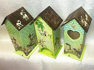 Домик для чайных пакетиков. | Ярмарка Мастеров - ручная работа, handmade
