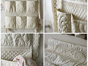 Мастер-класс № 28. Кармашки для кроватки.. Ярмарка Мастеров - ручная работа, handmade.