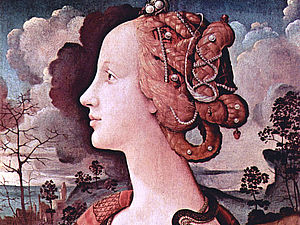 Мои вдохновители - история любви Симонетты Веспуччи | Ярмарка Мастеров - ручная работа, handmade