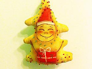Мастер-класс ЧуднАя Ёлочка (новогодняя игрушка на ёлку ). Ярмарка Мастеров - ручная работа, handmade.