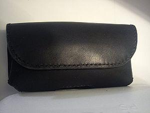 Мастер класс по изготовлению кожаного чехла для айфона.. Ярмарка Мастеров - ручная работа, handmade.