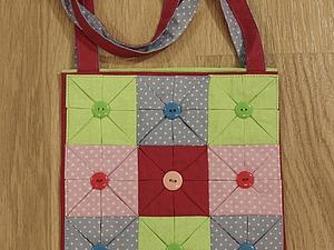 Делаем сами сумочку-оригами. 2 часть. Ярмарка Мастеров - ручная работа, handmade.