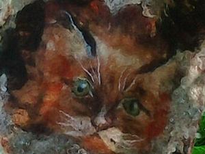 Мои любимые котики. | Ярмарка Мастеров - ручная работа, handmade