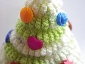 Елочка пушистая (вязание) | Ярмарка Мастеров - ручная работа, handmade