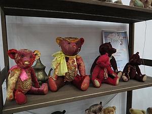 VI Московская международная выставка коллекционных медведей Teddy, ФОТО - ЧАСТЬ 4 (    4 - 7 декабря | Ярмарка Мастеров - ручная работа, handmade