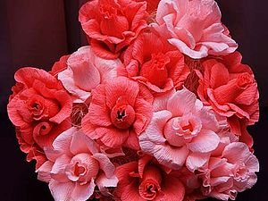 Розовое сердце (Композиции из конфет)   Ярмарка Мастеров - ручная работа, handmade