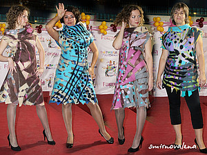 Мастеркласс платье в технике