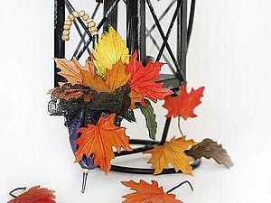 Создаем брошь из кожи «Шепот листьев». Ярмарка Мастеров - ручная работа, handmade.