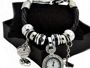 АКЦИЯ Пандора  браслет - часы | Ярмарка Мастеров - ручная работа, handmade