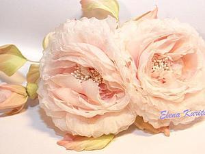 Шелковая флористика. Роза
