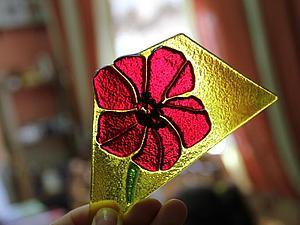 Курс - Смешанная техника: витражи Тиффани и фьюзинг (запекание стекла). | Ярмарка Мастеров - ручная работа, handmade