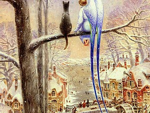Кот и Ангел в работах Владимира Румянцева. Ярмарка Мастеров - ручная работа, handmade.