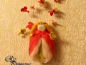 """Украшение для детской """"Принцесса Гортензия"""" часть 2. Ярмарка Мастеров - ручная работа, handmade."""