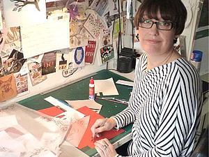 Бумажный мир Helen Musselwhite | Ярмарка Мастеров - ручная работа, handmade