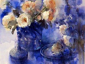 Акварель — зеркало души. Творчество японской художницы Юко Нагаяма | Ярмарка Мастеров - ручная работа, handmade