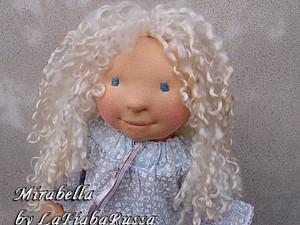 кукла Мирабелла. текстильная скульптура из натуральных материалов.   Ярмарка Мастеров - ручная работа, handmade