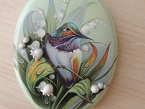 Как написать птичку колибри масляными красками. Ярмарка Мастеров - ручная работа, handmade.