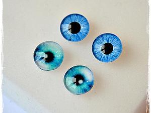 Стеклянные глазки для игрушек своими руками | Ярмарка Мастеров - ручная работа, handmade