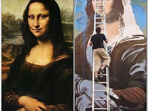 Леонардо да Винчи или уличный художник?   Ярмарка Мастеров - ручная работа, handmade