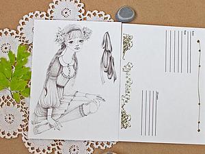 Открытки с моими рисунками! | Ярмарка Мастеров - ручная работа, handmade