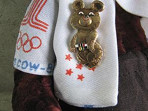 Тимошка - олимпийский мишка! | Ярмарка Мастеров - ручная работа, handmade