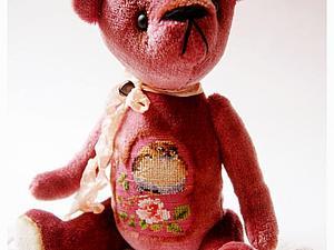 Аукцион на мишку с вышивкой. Завершен! | Ярмарка Мастеров - ручная работа, handmade