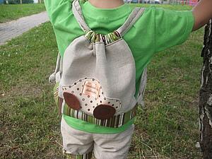 Как сшить детский рюкзак машинка рюкзак ferplast