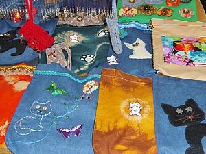 Скидка 15% на текстильные сумки при покупке от трёх штук. | Ярмарка Мастеров - ручная работа, handmade