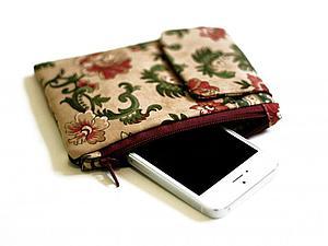 Шьем уютный футляр для телефона своими руками. Ярмарка Мастеров - ручная работа, handmade.