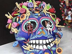 Работы мексиканских ремесленников: часть вторая, психоделическая(Бисер уичоли, алебрихе, калаверы) | Ярмарка Мастеров - ручная работа, handmade