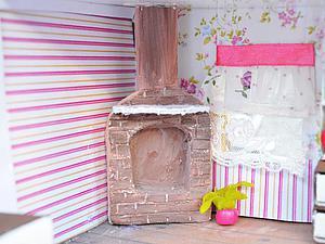 Видеоурок: камин для кукольного домика. Ярмарка Мастеров - ручная работа, handmade.