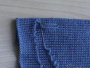 Как поставить петли под пуговицы на вязаных изделиях. Ярмарка Мастеров - ручная работа, handmade.